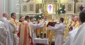 Msza krzyżma w katedrze w Łucku i w Żytomierzu - Foto