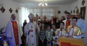 Wspólne świętowanie Bożego Narodzenie z JE Ks. Arcybiskupem Mieczysławem Mokrzyckim