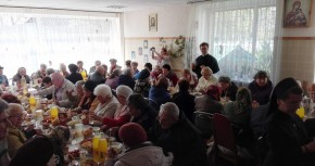 Świąteczny obiad dla biednych w Żytomierzu