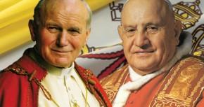 Церемония канонизации Иоанна Павла II и Иоанна XXIII.
