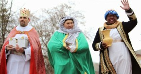 Шествие Трех Царей в Житомире.