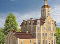 """Отчет об I этап строения нового храма """"Христа Царя Вселенной"""""""