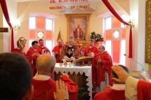 Урочистість св. Климентія і святкування 100 річниці посвячення _1