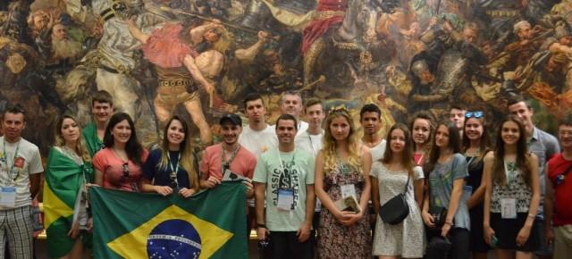 Паллотинська молодь на Світових Днях Молоді в Кракові