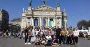 Виїзд дітей та молоді з Парафії Божого Милосердя до Львова
