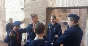 Скаутська присяга в Колізеї