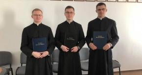 Вітаємо диякона Ярослава Драгана SAC з отриманням титулу магістра теології